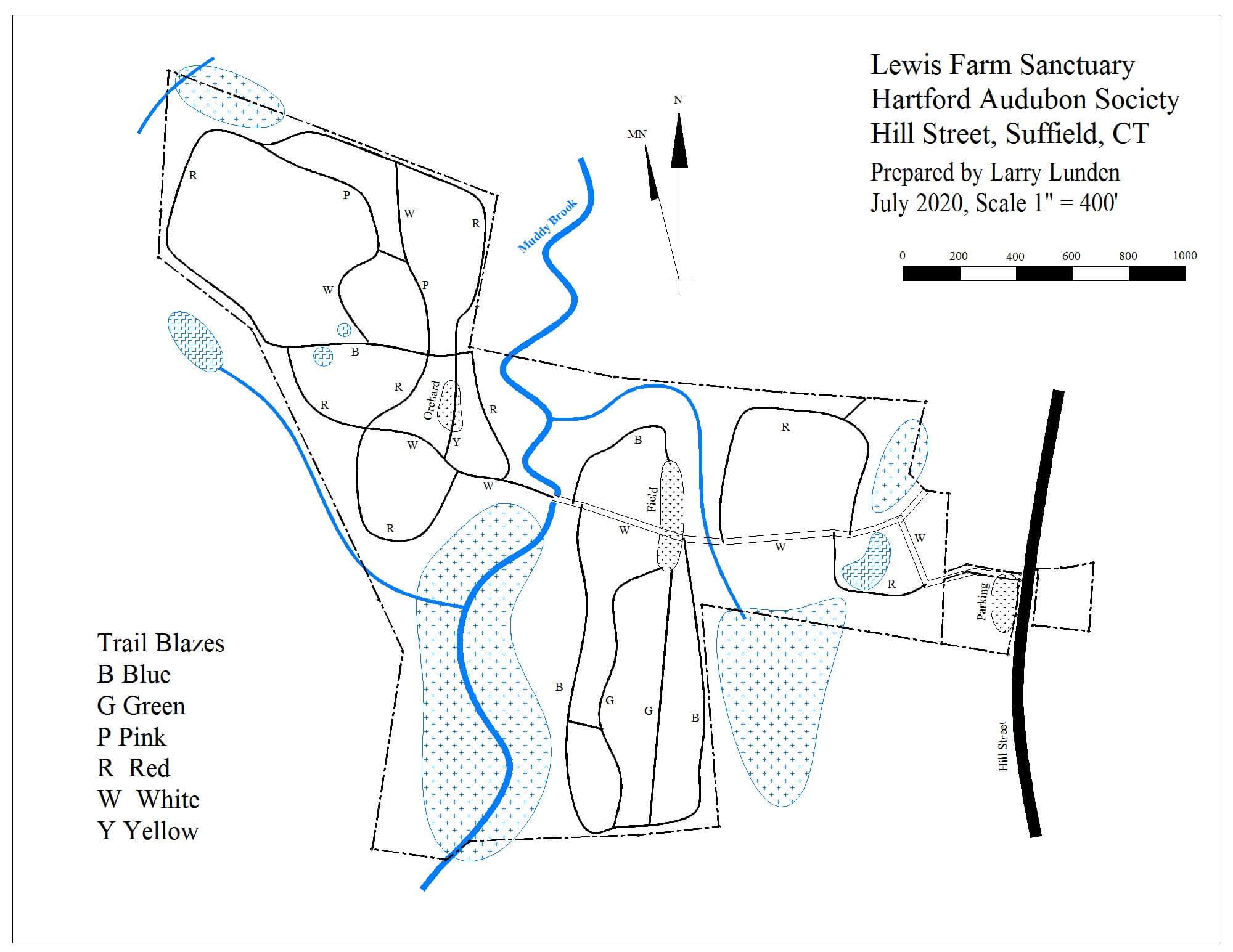 Lewis Farm Map